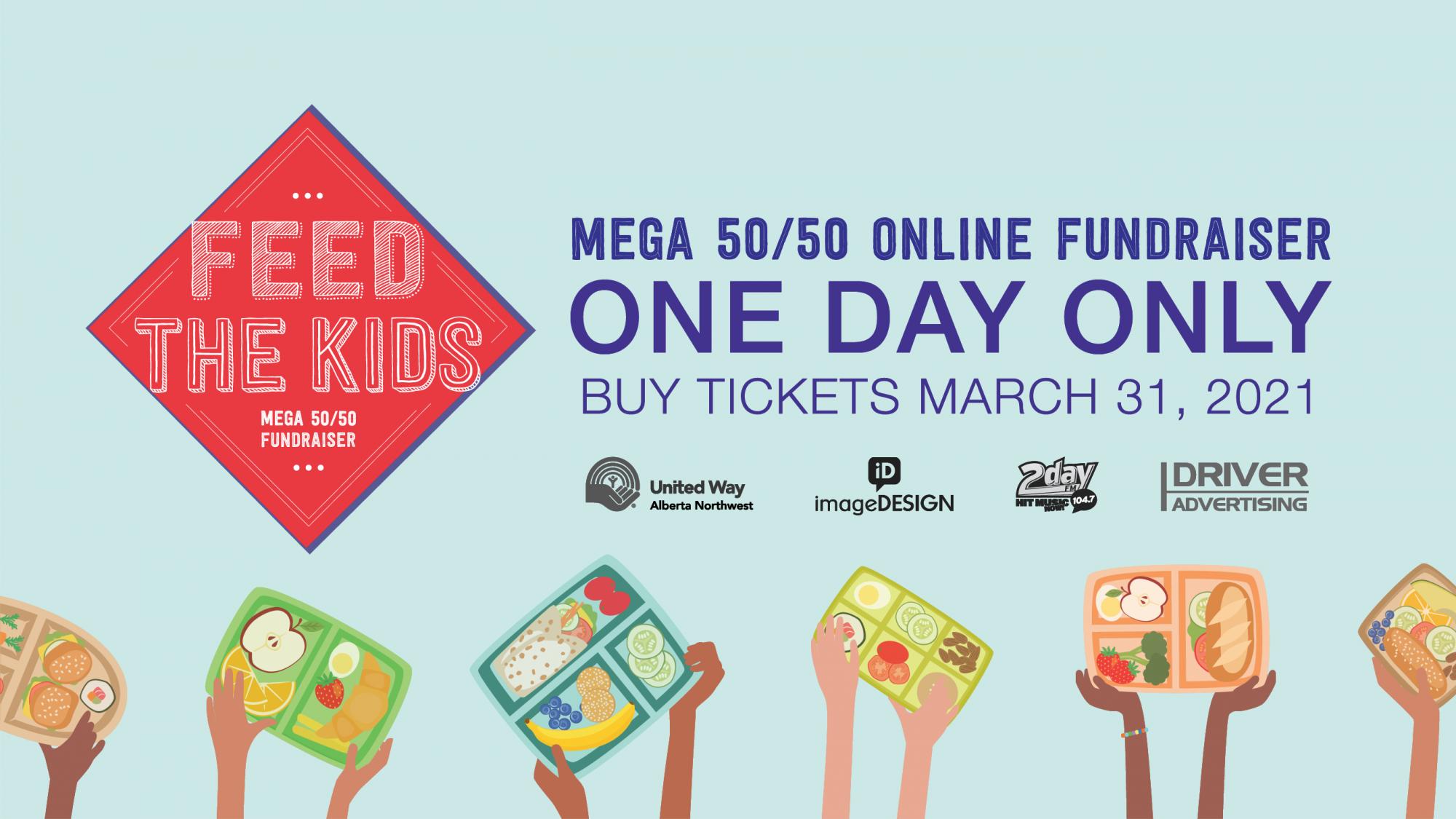 Feed the Kids Mega 50/50 Online Fundraiser